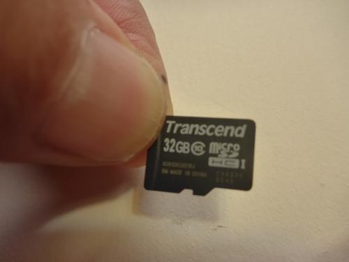 PanasonicのウェアラブルカメラHX-A500のSD