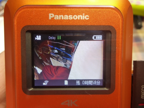 PanasonicのウェアラブルカメラHX-A500