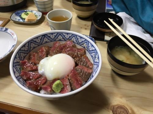 いまきん食堂の赤牛丼