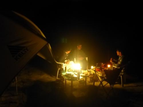 リバーパーク犬飼のキャンプサイト