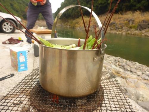 伊勢エビの味噌汁