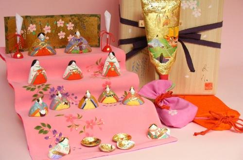 みかわ工房の雛人形セット「紫式部日記」