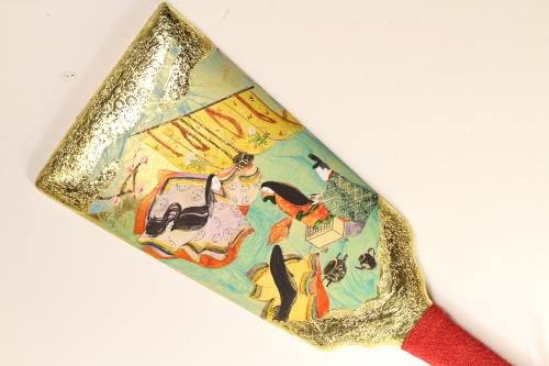 みかわ工房の源氏物語絵巻羽子板「葵」