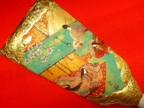 ひめ羽子板に描いた源氏物語「少女」
