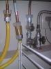 流し台の中にある水道管