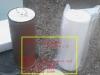 日本ゼスト浄水器の新品と1年使用品のカートリッジ