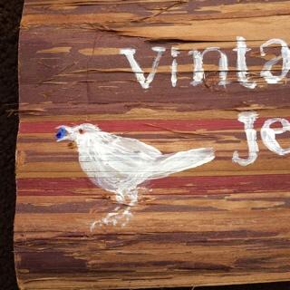 小鳥の看板