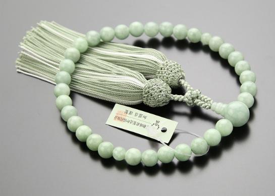 数珠 翡翠 女性用