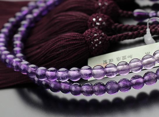 浄土真宗,数珠,女性用,グラデーション