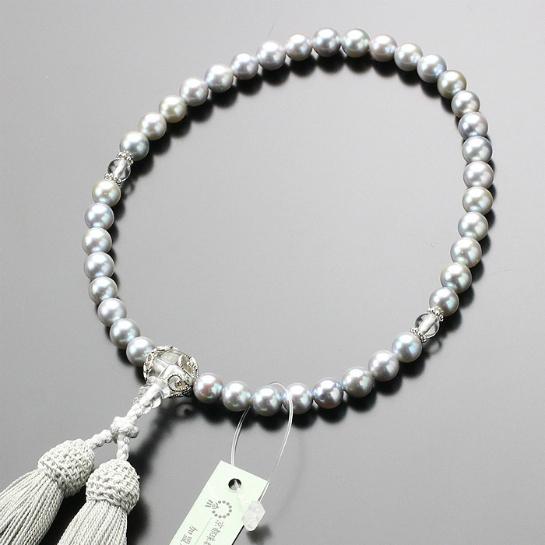 数珠,女性用,パール