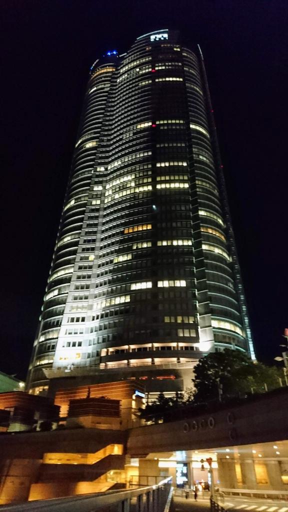 宵の散歩道