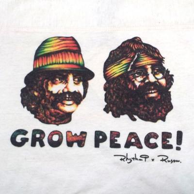 Rhythm9 RUSOW GROW PEACE GOHEMP チーチョン CHEECH & CHONG