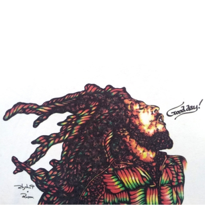 Rhythm9 RUSOW GROW PEACE GOHEMP BOB MARLY ボブマーリー ONE LOVE