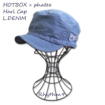 HOT BOX SESSIONS Phatee Rhythm9 Half Cap Cheech & Chong チーチョン