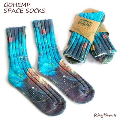 GOHEMP,SALE,SPACE SOCKS,宇宙ソックス,通販,Rhythm9,リズムナイン,リズム9