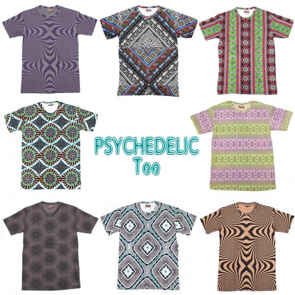サイケデリック,Tシャツ,トランス,TRANCE,RAVE,フェスファッション
