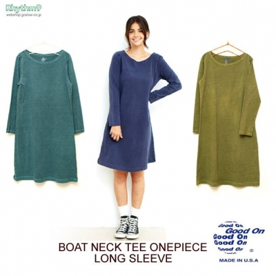 Boat Neck Tee One piece