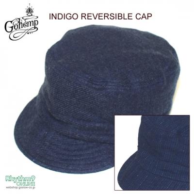 INDIGO REVERSIBLE CAP