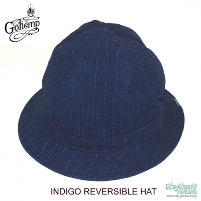 INDIGO REVERSIBLE HAT