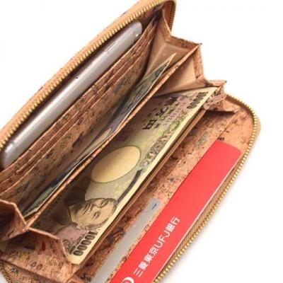 コルク財布