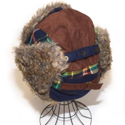 真冬 帽子