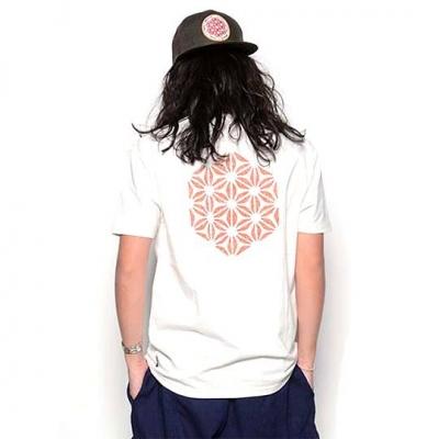 麻紋様 Tシャツ
