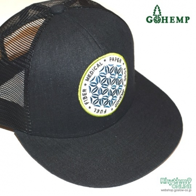 SYMBOL OF HEMP MESH CAP