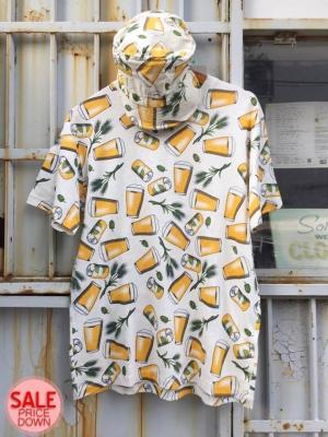 ビール柄 Tシャツ