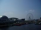 名古屋港の景色