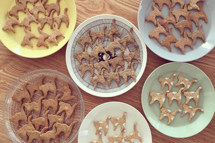 kippis特製のねこクッキー!