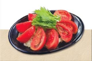 丸ごとトマトの和風サラダ