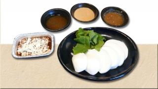 鉄板焼き野菜(蕪)