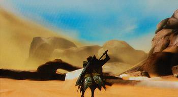 ジエンの砂漠