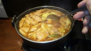 地鶏ホルモン鍋?