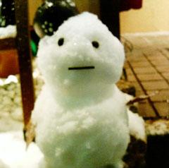 くずみ-雪だるま