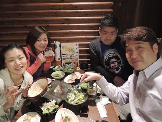 柚4人 公演前夜
