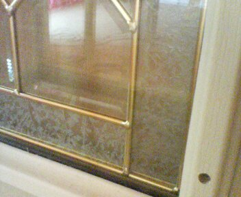 玄関ドアガラス