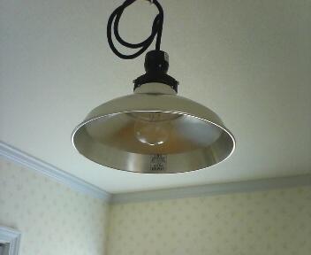 家事室の照明