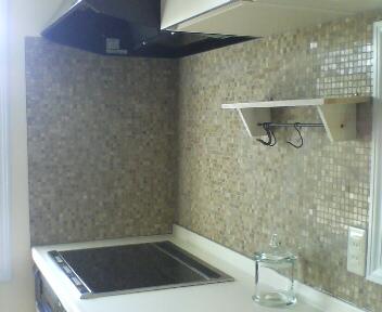 キッチンのタイル