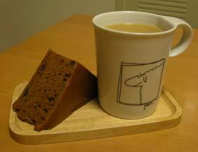 黒糖蒸しパン