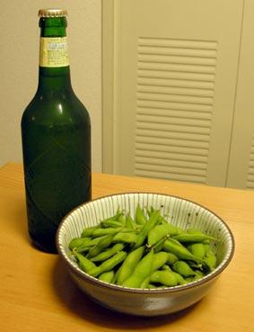 枝豆とハートランド
