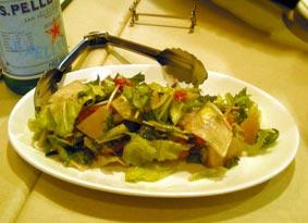 ホタテと野菜達
