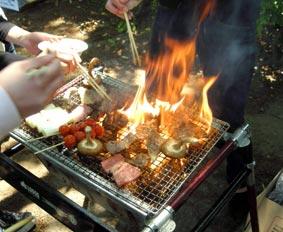 燃える肉達