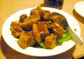 青菜と豚バラの煮込み