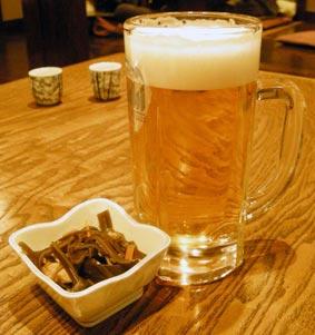 稲毛屋のビール