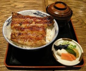 関西風鰻丼
