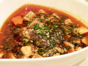 川香苑の麻婆豆腐