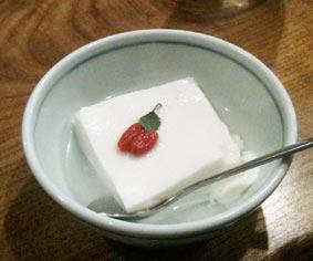 源烹輪の杏仁豆腐