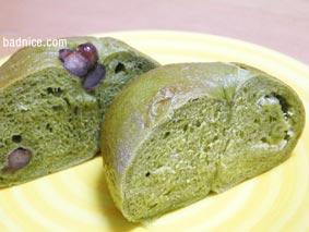 抹茶ベーグル2種類