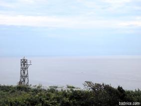 岬から日本海